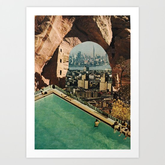 Possible paper place  Art Print