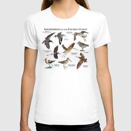 Shorebirds of the Pacific Coast T-shirt