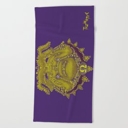 Omega Psi Phi Beach Towel