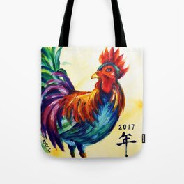 Zodiac - Rooster Tote Bag