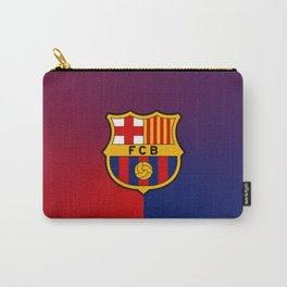 barcelona Sport Football Spain red blue team Carry-All Pouch