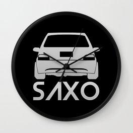 Citroen Saxo - silver - Wall Clock