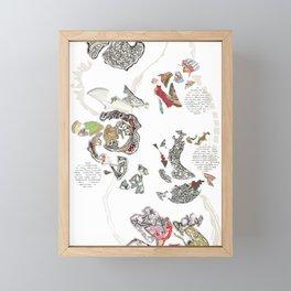 House of Teas Framed Mini Art Print