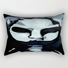 Sinister Zombie- Zombie Painting Rectangular Pillow