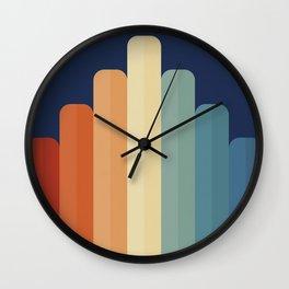 Retro Chart Wall Clock