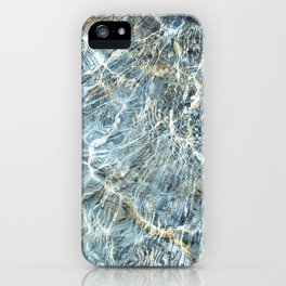 Blue Water Waves iPhone Case