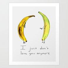 Banana Split Art Print