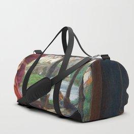 "John William Waterhouse - ""I am half sick of shadows"" said the Lady of Shalott Duffle Bag"
