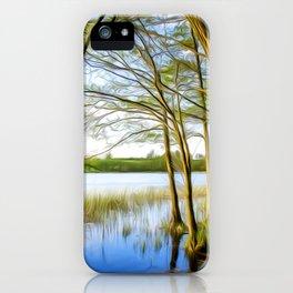 Lake Art 02 iPhone Case