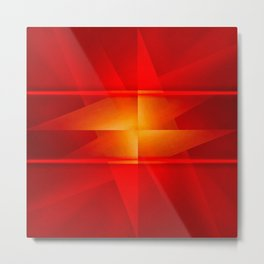 The Red Ideal Metal Print