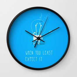 WOW! Trouble #1 Wall Clock