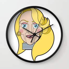 Madeline Ashton Wall Clock
