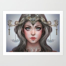 Libra - The Star Sign Art Print
