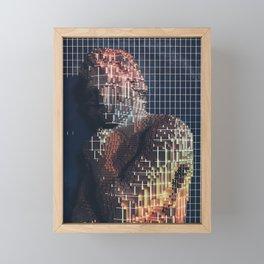 spartacus in voxel Framed Mini Art Print