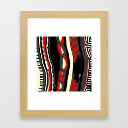 Coogi sweater Framed Art Print