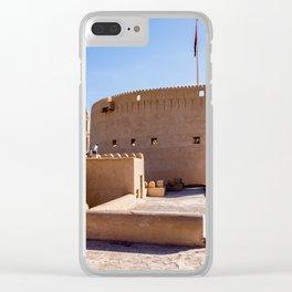 Nizwa Fort in Nizwa, Oman Clear iPhone Case