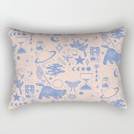 Collecting the Stars Rectangular Pillow