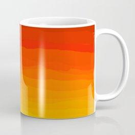 Red to Yellow Sunset Coffee Mug