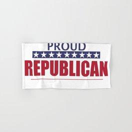 Proud Republican Hand & Bath Towel
