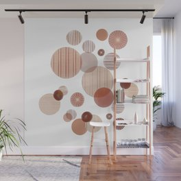 Effervescence in Cherry Wall Mural