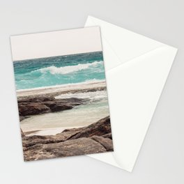 Watching the Waves Roll In Stationery Cards