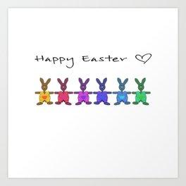 Happy Easter o2 Art Print
