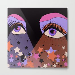 Star Gaze Metal Print