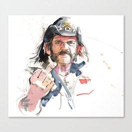 Lemmy Canvas Print