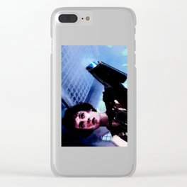 "Sigourney Weaver. In the movie ""Aliens"" Clear iPhone Case"