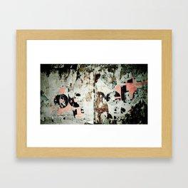 Wall #3 Framed Art Print