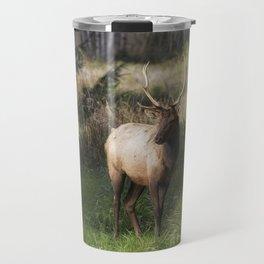 Elk in Nature Travel Mug