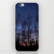 The line between night and day iPhone & iPod Skin