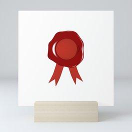 Wax Stamp Mini Art Print