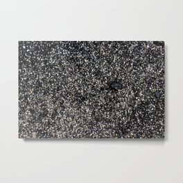 Sand at Cobblestone Beach Metal Print