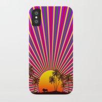 reggae iPhone & iPod Cases featuring Sunshine Reggae by A-Devine