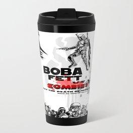 Boba fett vs zombies Metal Travel Mug