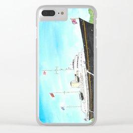 Royal Yacht Britannia Clear iPhone Case