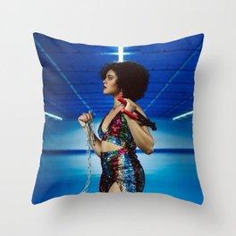 Mandy Groves Blow  Throw Pillow