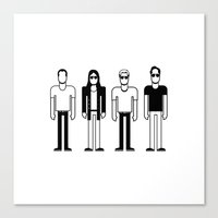 pixies Canvas Prints featuring Pixies by Band Land