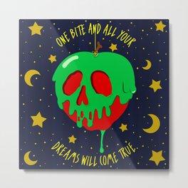 Poison Apple Metal Print