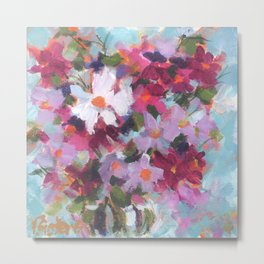 Cosmos Confection Metal Print