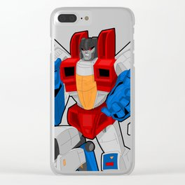 Starscream Clear iPhone Case