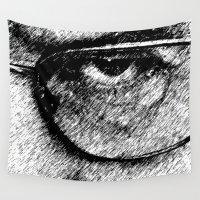 heisenberg Wall Tapestries featuring Heisenberg Ink Eye by Maioriz Home