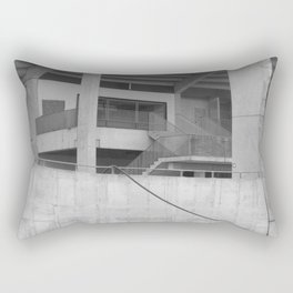 katowice stadion, texture photography, architecture Rectangular Pillow