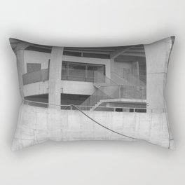 katowice stadion, texture photography, architecture Rectangular Pillow