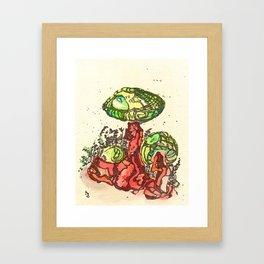 Mushrooms 2 Framed Art Print