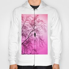 The Sentinal ~ Pink Abstract Hoody
