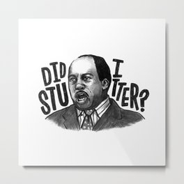 Stanley | Office Metal Print