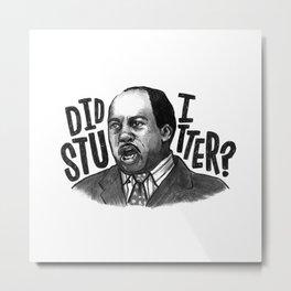 Stanley   Office Metal Print