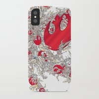 foo fighters iPhone & iPod Cases featuring Rebel Fighters by Guy Warley